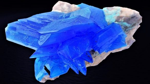 Calcantit - Cristale naturale - Pietre semipretioase