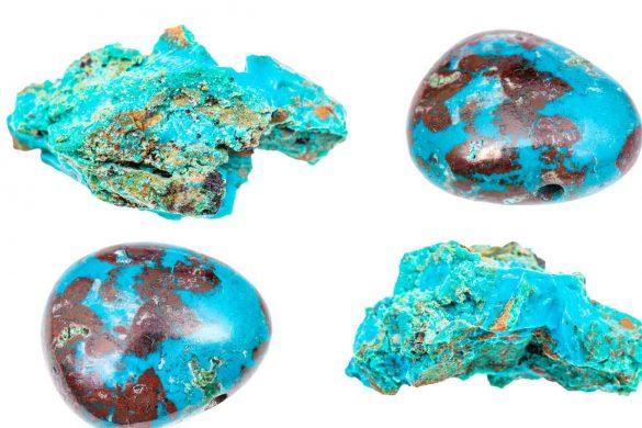 Crisocola - Cristale naturale - Pietre semipretioase
