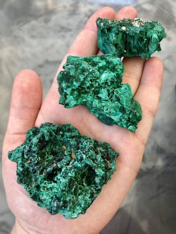 Malachit - Cristale naturale - Pietre semipretioase