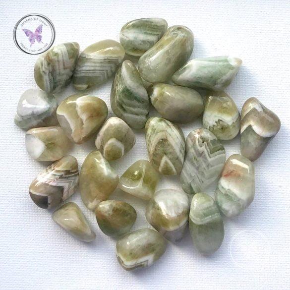 Prasiolit - Cristale naturale - Pietre semipretioase
